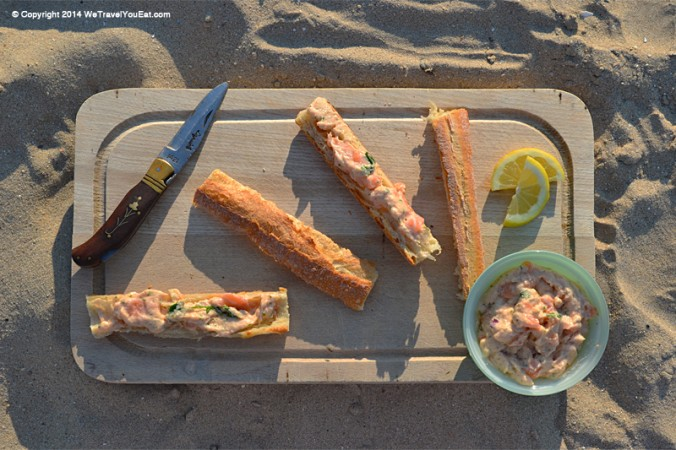 tarama au saumon sans oeufs de poisson