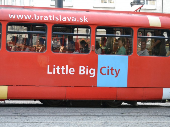 tram bratislava litle big city