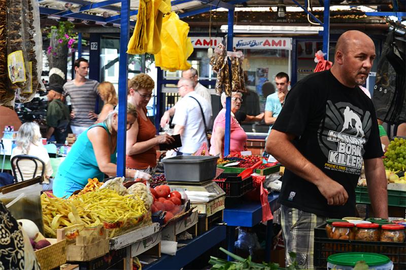 marché de Rynek Kleparski Cracovie
