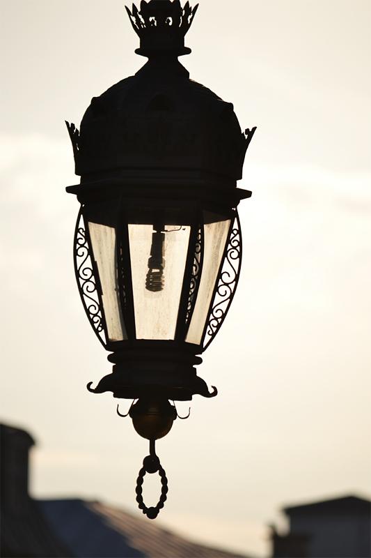 Cracovie lampadaire