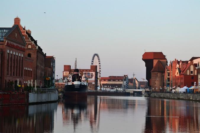 Gdansk au petit matin