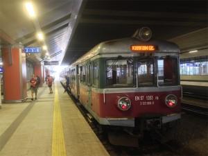 Train en Pologne