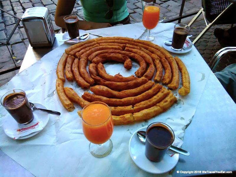 spirale churros Esperanza