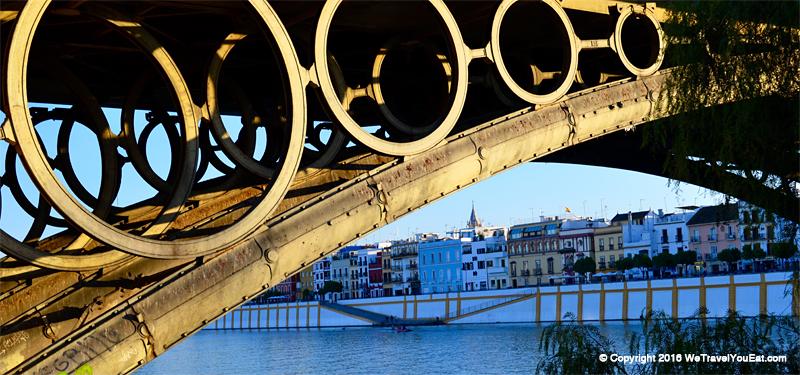 Pont de triana et calle Betis