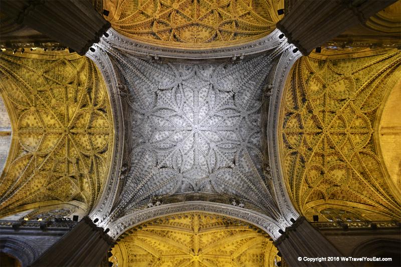 voûte cathédrale séville