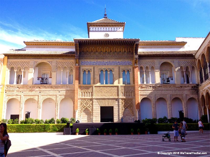 façade entrée real alcazar