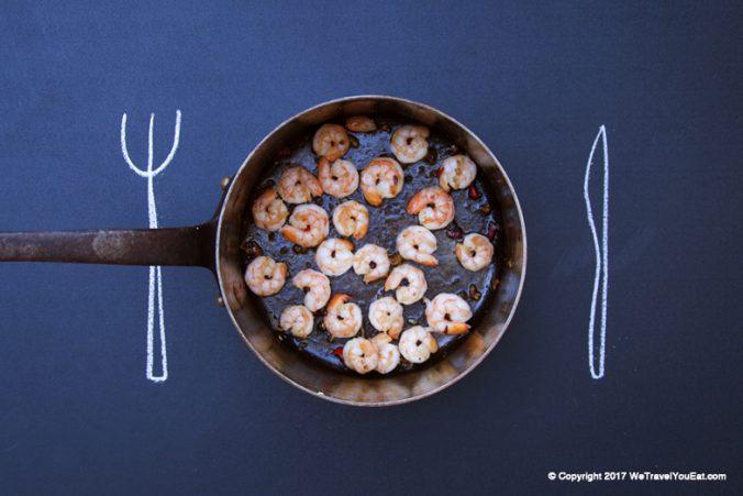 Tapas espagnols de Crevettes à l'ail. Simples et rapides !